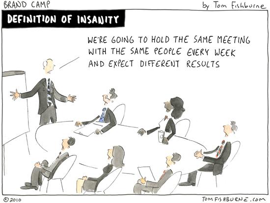 Mismas actitudes no conducen a resultados distintos