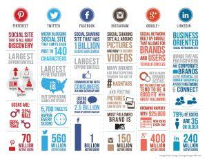 Infografía: Infografía: Perfil de Usuarios En Las Redes Sociales